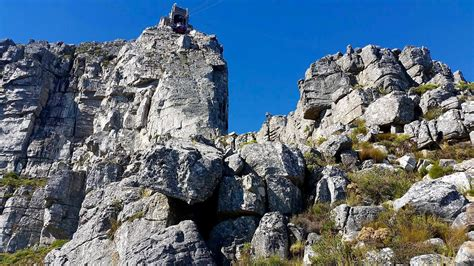 India Venster hiking route on Table Mountain, South Africa