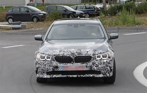 2017 BMW 5 Series Touring Pre-Production Car Loses Some