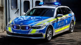 2017 BMW 5 Series Touring Polizei - Wallpapers and HD