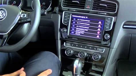 Discover Pro Voice Control/ Traffic im Golf 7 - YouTube