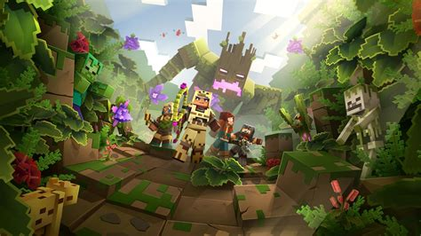 Minecraft Dungeons getting cross-play and two shiny new